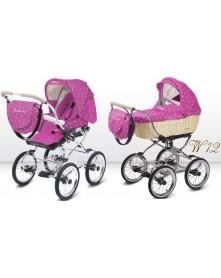 BabyActive Wózek wielofunkcyjny Ballerina Wiklina 2w1 W12