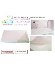 Vitmat materac Active Baby 3D piankowy z warstwą wentylacyjną  120x60x9 cm