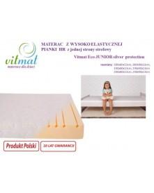 Vitmat Materac Piankowy Wysokoelastyczny Eco Junior Silver Protection 190x90x13 cm