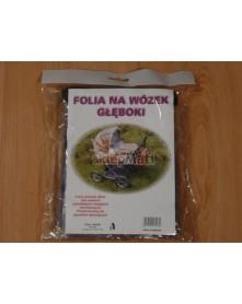Jacuś Folia Przeciwdeszczowa Na Wózek Głęboki