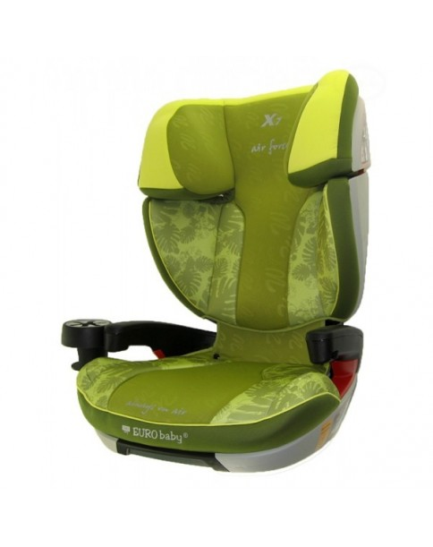 Eurobaby Fotelik samochodowy CSX 15-36kg + Isofix green