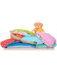 Małe Duże poduszka do łóżeczka Minky 40x60cm