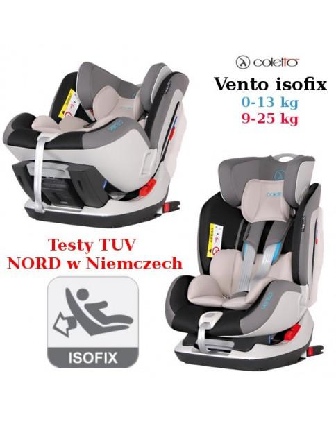 Coletto Fotelik Samochodowy Vento Isofix 0-25 kg