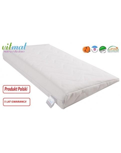 Vitmat Poduszka Klin-Antyrefluksyjna 60x36x8/1cm do łóżeczka 120x60cm
