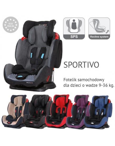 Coletto Fotelik Samochodowy Sportivo 9-36 kg