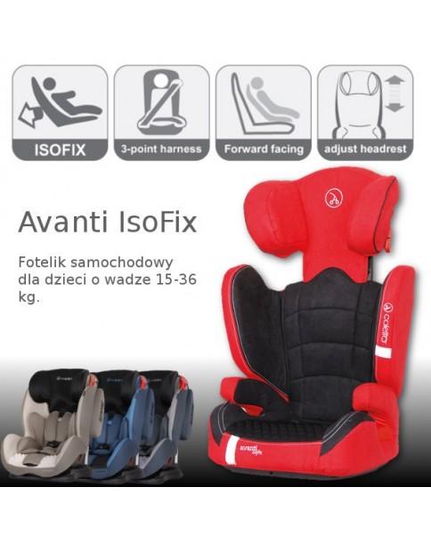 Coletto Fotelik Samochodowy Avanti Isofix 9-36 kg