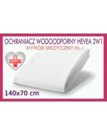 Hevea Ochraniacz wodoodporny Frotte 2w1 140/70 cm