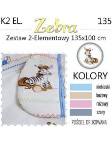 Ankras Pościel 2-elementowa Zebra 135/100 cm