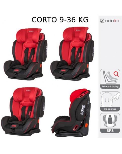 Coletto Fotelik Samochodowy Corto 9-36 kg