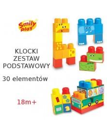 Smily Play Klocki Zestaw Podstawowy 30 el. 1614