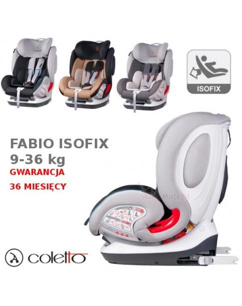 Coletto Fotelik samochodowy Fabio IsoFix 9-36 kg