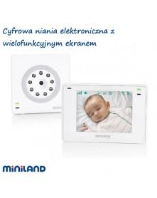 Miniland Cyfrowa niania elektroniczna z wielofunkcyjnym ekranem 3,5 plus ML89174