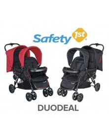 Safety 1st wózek bliżniaczy DuoDeal Full black