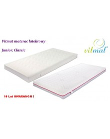 Vitmat  Junior rozmiar  Classic, Duo Materac Lateksowy  80x 190x 12 cm