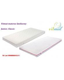 Vitmat  Junior Classic, Duo Materac Lateksowy  90x 190x 12 cm okładka