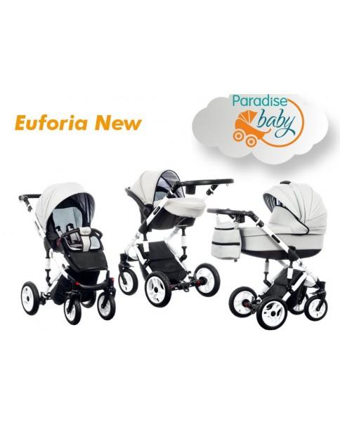 Paradise Baby Wózek Wielofunkcyjny Euforia New 3w1 okladka