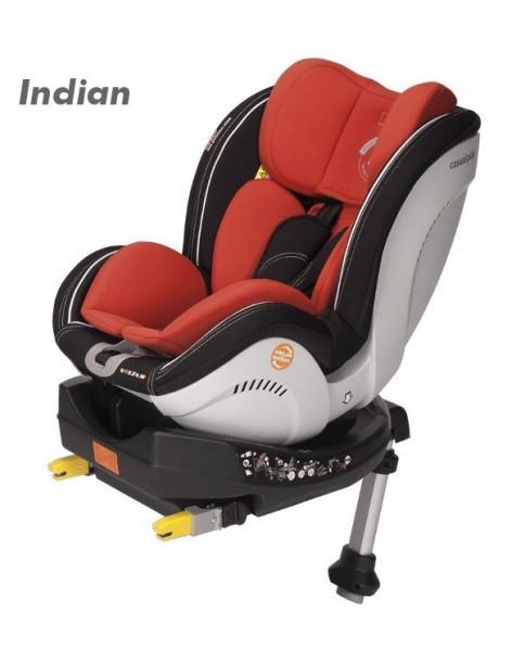 Casualplay Volta Fix fotelik samochodowy 0-18 kg Indian