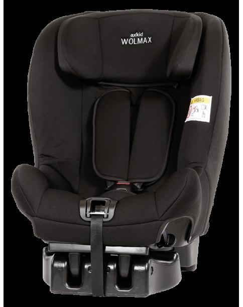 Axkid fotelik samochodowy Wolmax 9-25 kg Black
