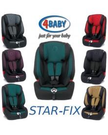 4Baby Fotelik samochodowy STAR-FIX  9-36 kg