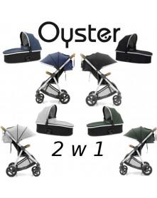 Wózek spacerowy Oyster Zero Czarny