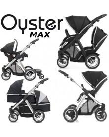 Oyster Max wózek wielofunkcyjny, bliźniaczy, rok po roku