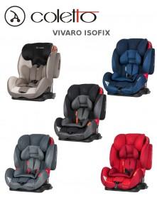 Coletto Fotelik Samochodowy Vivaro Isofix 9-36 kg