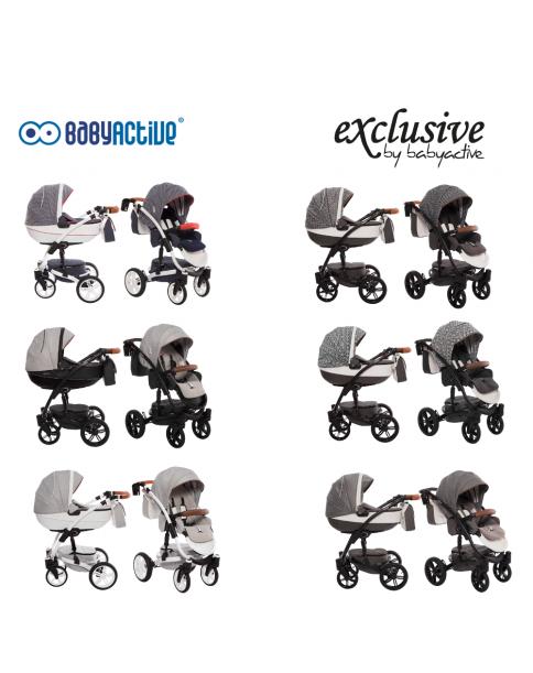 BabyActive Wózek Wielofunkcyjny Exclusive 2 w 1