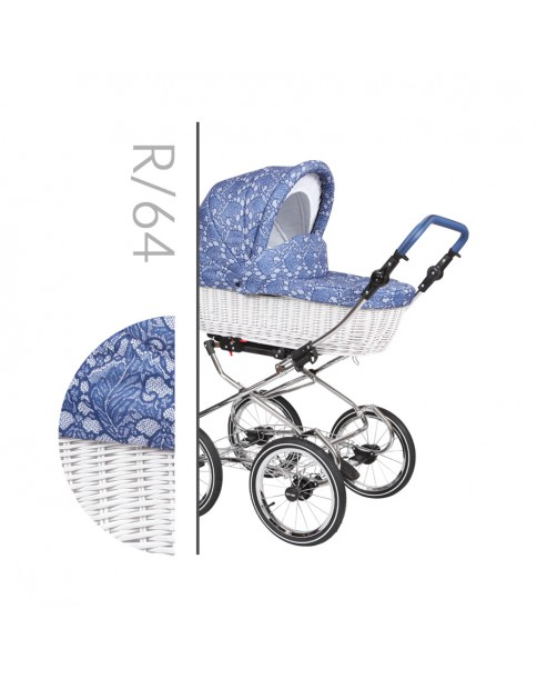 Baby Merc Wózek Wielofunkcyjny Retro 3w1 R 64