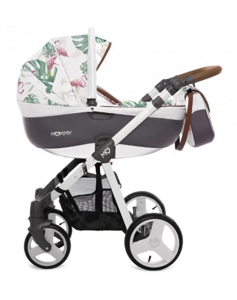BabyActive Wózek Wielofunkcyjny Mommy 3 w 1 Flaming