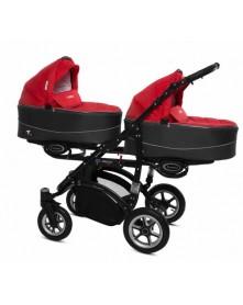 BabyActive Wózek Bliźniaczy Twinni Premium 3w1