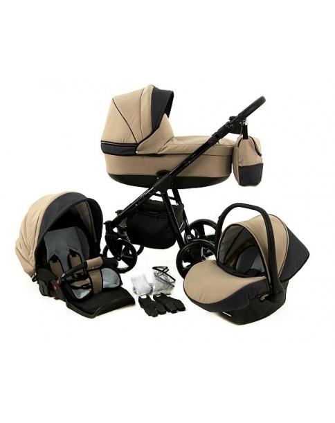 Paradise Baby Wózek Wielofunkcyjny Magnetico SLIM 3w1 50 beż