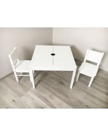 Drewex Zestaw stolik + 2 krzesełka