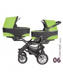 BabyActive Wielofunkcyjny wózek bliźniaczy Twinni 3w1