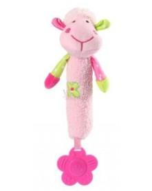 Baby Ono Zabawka piszcząca z gryzakiem owieczka 996