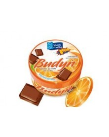 Skarb Matki Budyń balsam do ciała hipoalergiczny dla niemowląt i dzieci czekoladowo-pomarańczowy 140ml