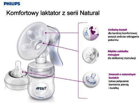 Avent Philips Laktator Natural SCF 33020 zalety Sklep Mati