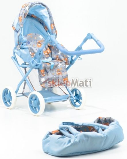 EuroBaby 9346 Wózek dla lalek gondolka + spacerówka Sklep Mati