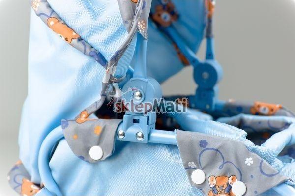 EuroBaby 9346 Wózek dla lalek regulowany daszek Sklep Mati