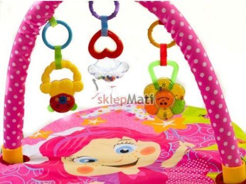 FITCH BABY MATA EDUKACYJNA KWIATOWA WRÓŻKA zabawki