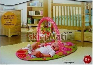 FITCH BABY MATA EDUKACYJNA KWIATOWA WRÓŻKA zastosowanie