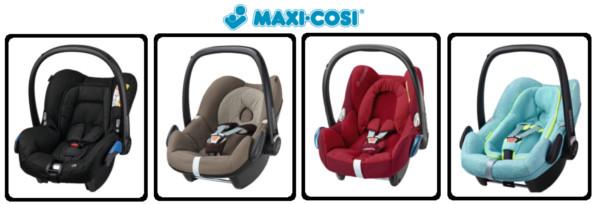 Maxi Cosi Fotele