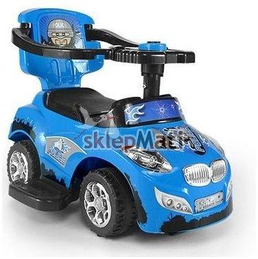 Milly Mally Pojazd HAPPY niebieski