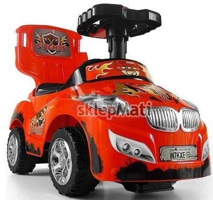 Milly Mally Pojazd HAPPY red