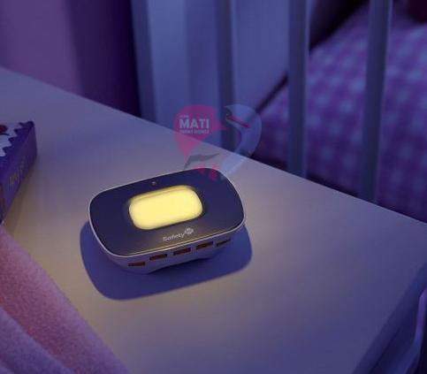 Safet1St Niania Elektryczna Safe Contact+ lampka nocna