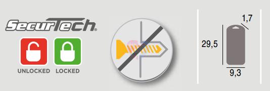 Safety1St Zabezpieczenie szafki suwakowe