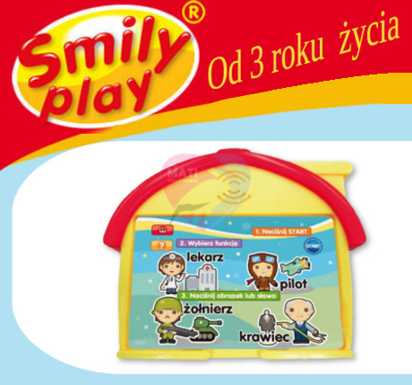 Smily Play Domek Edukacyjny baner