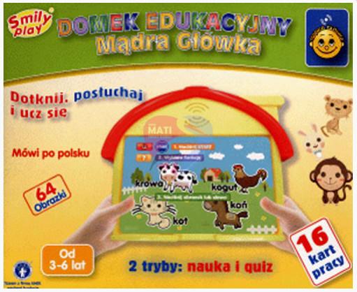 Smily Play Domek Edukacyjny kartonik