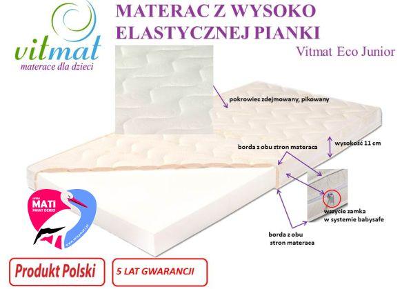 Vitmat Materac Piankowy Eco junior.