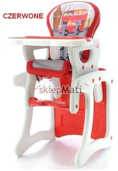 eb krzesełko komfort czerwone