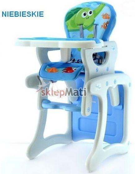 eb krzesełko Komfort niebieskie
